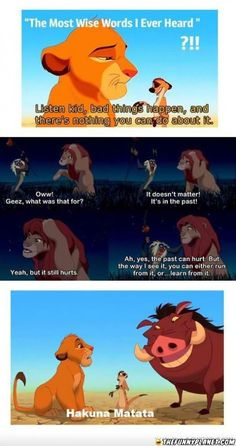 I get my Life lessons from Disney <3