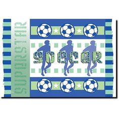 Trademark Art Soccer Canvas Art by Grace Riley, Size: 30 x 47, Multicolor