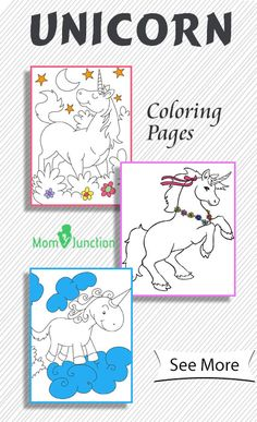 Kids love fairy tales and the incredible characters associated with them like unicorns & flying horses. Check 25 free printable unicorn coloring pages here.