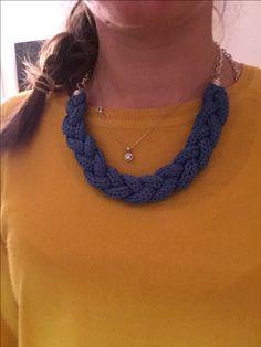 Lana, Crochet Necklace, Jewelry, Design, Fashion, Accessories, Moda, Jewlery, Jewerly