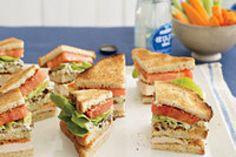 Buffalo Club Sandwiches Recipe