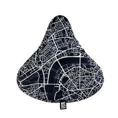 Bike Seat Cover London Map by May28thWatches on Etsy