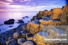 The Giant's Causeway, UNESCO World Heritage Site, County Antrim, Ulster, Northern Ireland, United Kingdom, Europe
