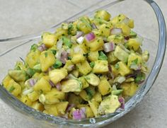 Avocado Pineapple Salsa