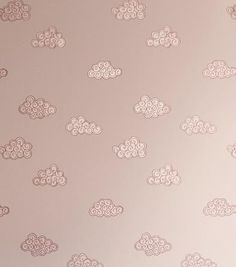 109 - Claudia wallpaper - pink - Sandberg Tyg & Tapet