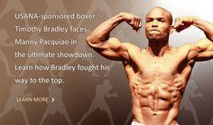 USANA boxer Timothy Bradley works his way to the top.  www.buildresidual.usana.com