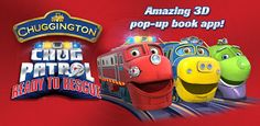 New Age Mama: App Review: Chuggington - Chug Patrol: Ready to Rescue ~ Chuggington Interactive Pop-up Book