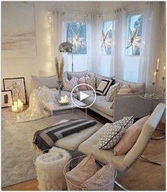 kleine Zimmer Wohnzimmer Ideen 2019 - Room Improve your Home by Building a Deck Learn Living Room Ideas 2019, Cozy Living Rooms, Home Living Room, Apartment Living, Living Room Furniture, Living Room Designs, Home Furniture, Living Room Decor, Modern Furniture