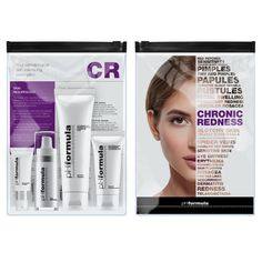The C.R. homecare kit contains fundamental products that offer a complete skin resurfacing regimen for the treatment of chronic redness - ensure you use these homecare products as prescribed by your pHformula skin specialist, to optimise overall results #pHformula #skinresurfacing #artofskinresurfacing #skinhealth #homecare #chronicredness #results