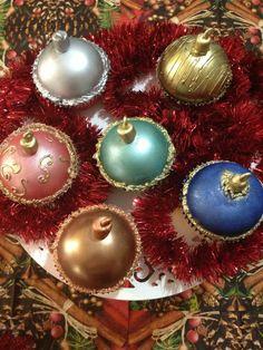 cupcake bola de natal - Pesquisa Google