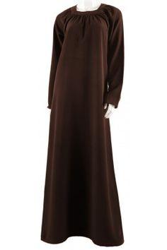 Abaya Inaya marron