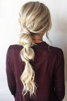 25 Fast Hairstyles for Long Hair Time-saving hairstyle for you hairstyle . - 25 quick hairstyles for long hair Sporty Ponytail, Bubble Ponytail, Knotted Ponytail, Messy Ponytail, Fast Hairstyles, Straight Hairstyles, Braided Hairstyles, Wedding Hairstyles, Casual Hairstyles For Long Hair
