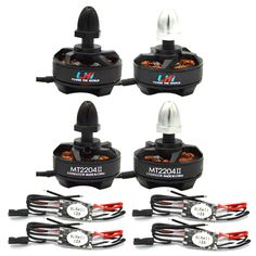 LHI MT2204 2300KV CW CCW Mini Motor +BLHELI 12A 2-3s ESC for QAV250 FPV KK 260 RC Quadcopter 4-Axis Aircraft. The LHI MT2204 2300KV brushless motor is the best motor for 200-300 sizes multirotors among all the motors we`ve tested, which weighs only 25g.eat performance at affordable price. Each motor is carefully balanced and tested before shipped out from factory. Low CG design, ligth weight design, longer flight duration. Factory has made dynamic balance test for each motor. Based on…