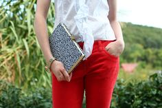DIY: Nerdy Chic Book Clutch // Caught On A Whim Blog