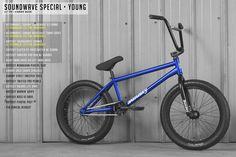 Sunday Bmx, Sunday Bikes, Bmx Bicycle, Sound Waves, Forks, Suit, Candy, Frame, Blue