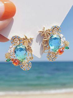 Ear Jewelry, Cute Jewelry, Jewelery, Jewelry Accessories, Jewelry Design, Korean Accessories, Korean Jewelry, Indian Jewelry, Deco Engagement Ring