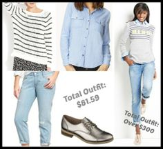 Fashionably Frugal: Look For Less - Simple Winter Outfit - http://www.livingrichwithcoupons.com/2013/12/fashionably-frugal-look-for-less-simple-winter-outfit-2.html