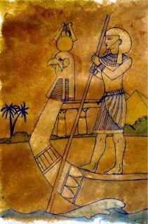 mrspicasso's art room: Draw Like An Egyptian- Art at the Library