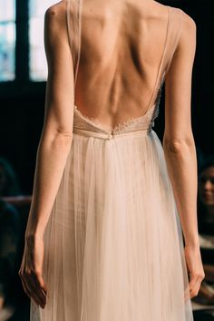 thearmsoftheoceann:  Backstage at Reem Acra Bridal Fall 2015, Photographed by Abby Ross