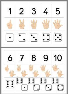 Literacy Games, Kindergarten Math Activities, Kindergarten Lesson Plans, Kindergarten Math Worksheets, Preschool Learning Activities, Math Games, Preschool Activities, Math Math, Numbers Preschool