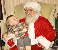 children on Santa's knee - Google Search