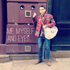 'Me Myself and I.' #mycanvasjouney #marcmcj @marcantolin