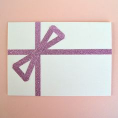 Use glitter tape to make simple but great looking cards for the holidays or anytime!