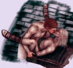 Dragon Age: Alistair x Zevran by LynxSphinx