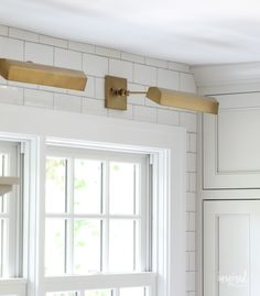 Today we are headed back into my kitchen remodel so I can give you a final rundown on the kitchen finishes including countertops, tile, and lighting. Over Sink Lighting, Pantry Lighting, Kitchen Sink Lighting, Kitchen Backslash, Kitchen Pictures, Countertops, Modern Country, Kitchen Remodel, Traditional