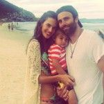 Alessandra Ambrosio: Entwined with Her Fiance and Son
