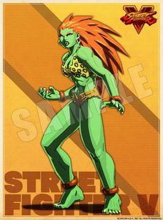 A Female Blanka New Character named Zen - http://wp.me/p67gP6-575
