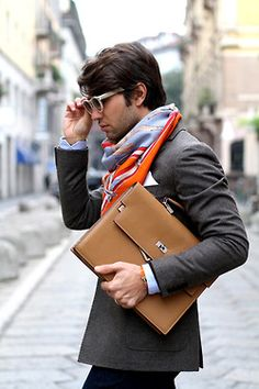 great style...terrific scarf