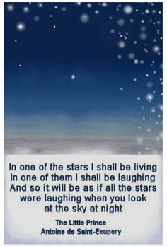 In one of the stars ....