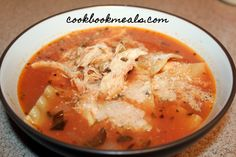 """After taking last week off for my birthday, Slow Cooker Sunday is back with a """"souper"""" recipe for the big game! I've have this recipe pinned for quite some time now. Being such a big fan of chicke…"""