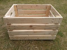 Wooden box for toys and other home goods made from by GoodsForHome