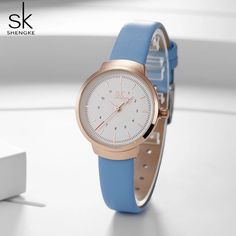 SK Luxury Leather Watches Women Creative Fashion Quartz Watches For Reloj Mujer 2018 Ladies Wrist Watch SHENGKE relogio feminino Outfit Accessories From Touchy Style. Cheap Watches, Casual Watches, Leather Watches, Quartz Watches, T Shirts For Women, Luxury, Lady, Casual Jeans, Outfit