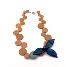Flat Circle Necklace now featured on Fab.