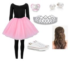 """""""My costume tonight(toddlers and tiaras)"""" by ilovelacrosse7902 ❤ liked on Polyvore featuring Mode, Max Studio, River Island, Glitter Pink, Bling Jewelry, Converse und Mikimoto"""