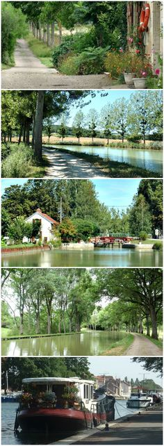 Flat, easy walking with no chance of getting lost, the Burgundy Canal cuts a romantic path through central France. Plan the perfect itinerary - where to stay, which sections to cycle, when to detour off the canal (there are 7 châteaux, 11 churches, one abbey and 3 of France's most beautiful villages to visit).  #walkingholidayinfrance