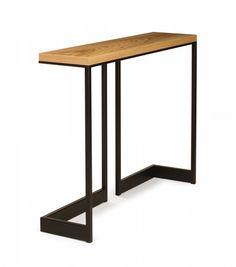 wishbone slab top high table | Skram Furniture