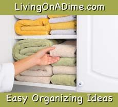 Easy Organizing Ideas and Secrets
