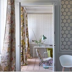 Decor, Luxury, Window Panels, Decorative Panels, Inspiration, Designers Guild, Metallic Accents, Paneling, Prints