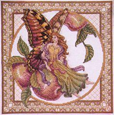 teresa wentzler cross stitch designs | Teresa Wentzler - Autumn Faerie