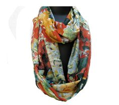 Infinity scarf/ loop scarf/ circle scarf/ tube scarf / multicolored scarf…