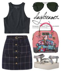 """""""Flatforms, platforms, wedges :) 1589"""" by boxthoughts ❤ liked on Polyvore featuring Teva, Ray-Ban, Aéropostale and Hedi Slimane"""