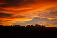 There's never one sunrise the same or one sunset the same  - Jackson Hole Mountain Resort