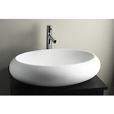 Ovale Above Counter Basin