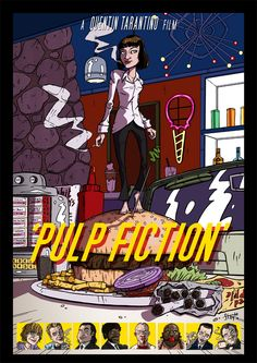 Pulp Fiction by stayte-of-the-art on deviantART