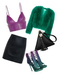 """""""Put2lux"""" by florence-bogdanov on Polyvore featuring mode, T By Alexander Wang, Yves Saint Laurent et McQ by Alexander McQueen"""