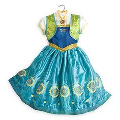 Anna Costume for Kids - Frozen Fever